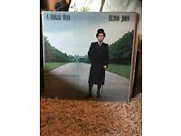 A Single Man - Elton John LP VINYL RECORD