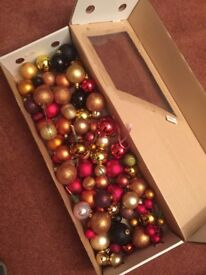 Collection of wired baubles