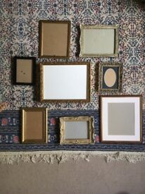 Selection of Gold Frames - Laura Ashley