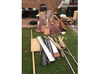Free wood for collection / scrap wood