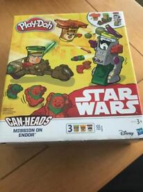 Star Wars play-doh