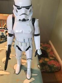 Star Wars interactive storm trooper
