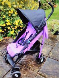 Chicco Echo Purple Stroller...