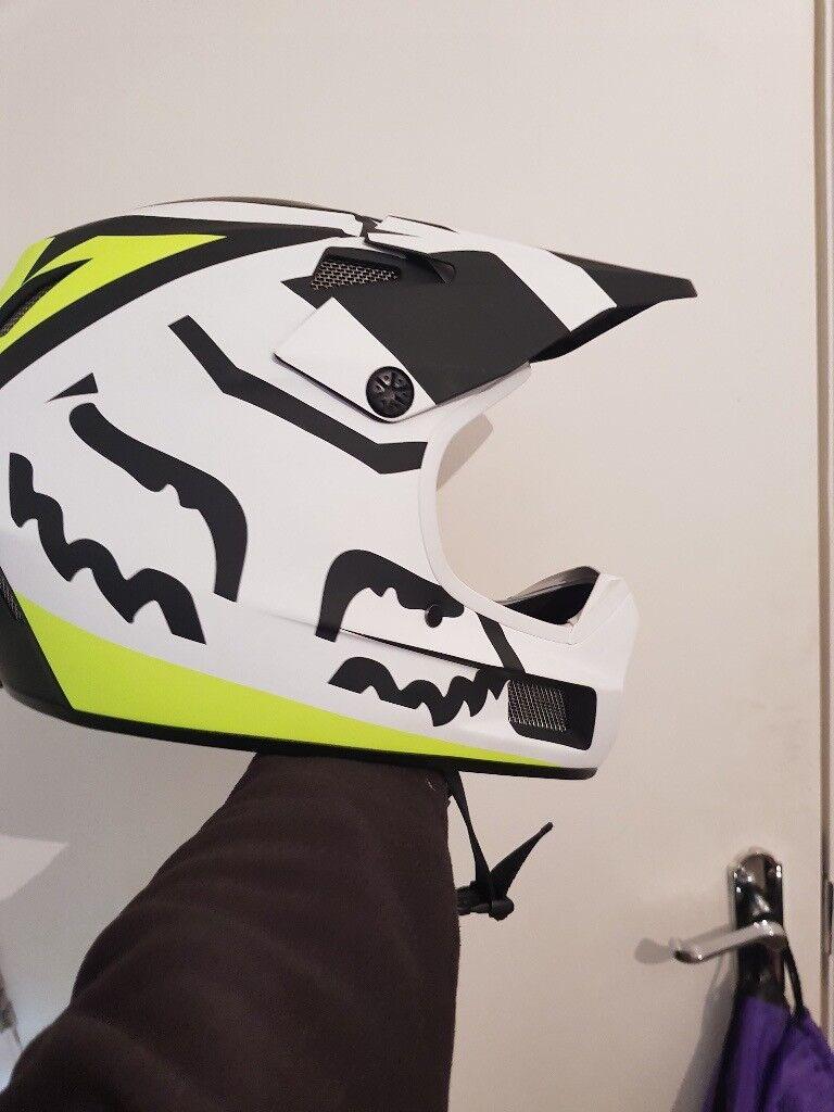 bike helmet rampage comp creo white yellow