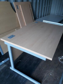 Office Desk 1200 x 800 in Maple Finish Good Condition