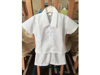 Baby Boy 2-piece White Christening outfit