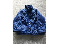 Joules boys 9-12 month padded coat