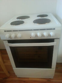 NordMende CSE60WH Single Cavity White 60cm Electric Cooker