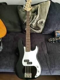 Star sound bass guitar