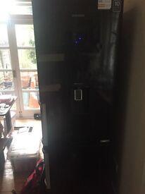 Black samsung fridge freezer