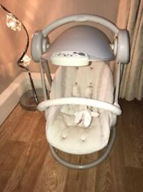 Mamas and papas baby rocker/swing
