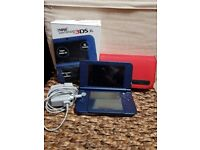 'new Nintendo 3DS XL' LIKE NEW +case +charger