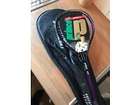 BRAND NEW IN WRAPPER Prince CTS Elite squash racket