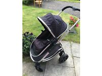 iCandy Strawberry Buggy Pushchair - Black - i Candy in Excellent Condition