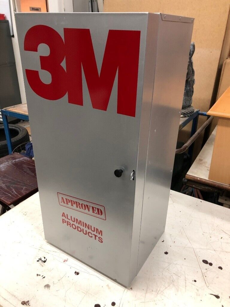 Brand New 3m Metal 2 Shelf Abrasives Storage Locking Cabinet Wall Hanging In Eastleigh Hampshire Gumtree