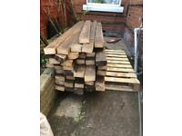 Reclaimed wood £2.50 each