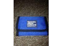 Superdry wallet blue