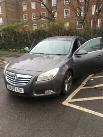 Vauxhall Insignia SRI Sport AUTO 2009 2.0litre Diesel Automatic 92,750 mileage (Car Colour Grey)