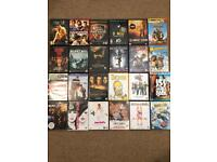 Mixed selection of 24 DVDs