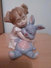NAO by lladro 'I love you so much' figurine