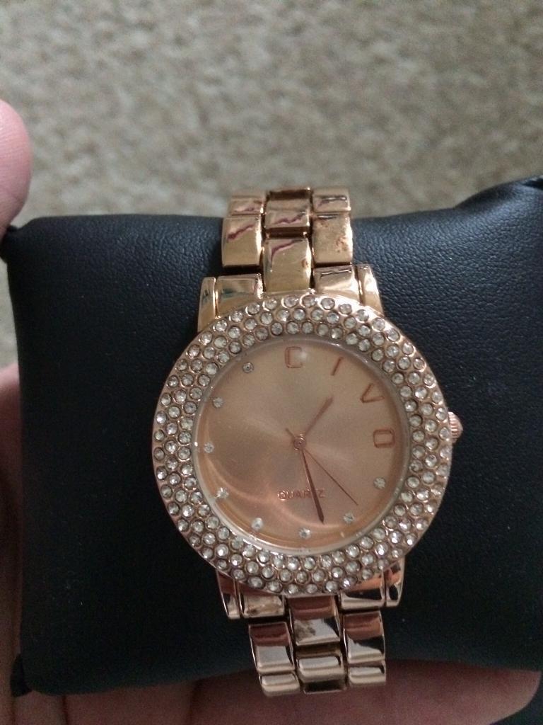 Civo rose gold watch