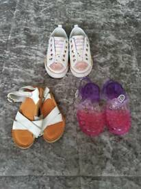 Girls trainers/sandals size 7