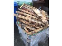 Free pallet of wood