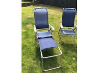 Garden Chairs or Caravan Chairs (x2)