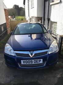 Vauxhall Astra, Estate, Manual, diesel, 1.7 CDTI 16V, ecoFLEX, Club, (110) 2009, Ultra Blue.