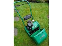 Qualcast petrol lawn scarifier