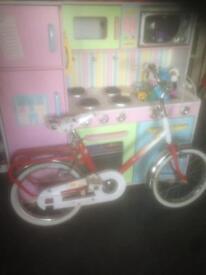 Girls falcon cruiser bike