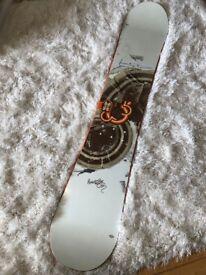 2006 Burton Jussi Oksanen Snowboard 159