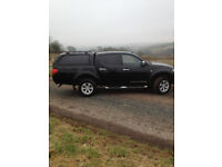 mitsubishi l 200 warrior doublecab canopy must be seen