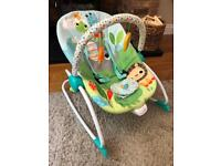 Baby Playful Parade Baby to Big Kid Rocker Seat