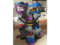 Fisher Price Imaginext Batcave plus vehicles