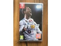 FIFA 18 (Nintendo Switch) , brand new & sealed ! price stands !!!!! MAY SWAP