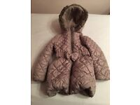 GIRLS COAT FROM NEXT SIZE 5-6
