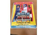 Match attax complete binder season 2017/18