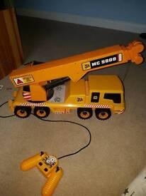 JCB remote control lorry