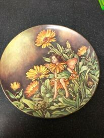Cicely Mary Barker plates