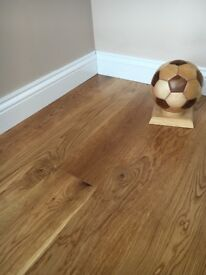 Super sale on 190x14mm white oak engineered flooring rustic lacquered