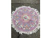 Round rug FREE DELIVERY PLYMOUTH AREA