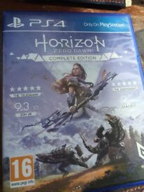 Horizon zero dawn complete edition game for PS4