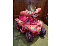 FEBER 6V MINNIE MOUSE QUAD WITH CHARGER AGE 1-3