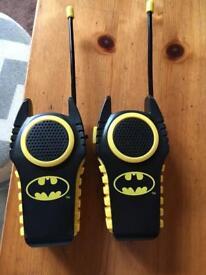 Batman Walkie Talkies.