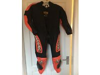 Kids motor bike racing suit