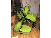 Oyster max double Pram pushchair