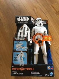 Star Wars Interactive Stormtrooper figure