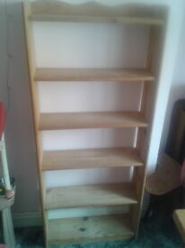 Lovely Pine Bookshelves shelves shelving