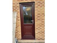 UPVC Exterior back door